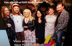 MUSIIKKI&ARTISTIT... TV4 VAIN ELÄMÄÄ - ohjelma vielä kerran 13.11.2015 Hyväntekeväisyys SUOMEN PUNAINEN RISTI. YstäväToimintaa&APUA, tukea Tarvitaan myös Kotimaassa, SUOMESSA. KIITOS ARTISTIT, Tuen&ARVOSTAN.  nelonen.fi  punainenristi.fi