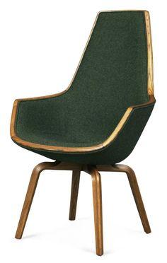 midcenturia: Giraffe Chair by Arne Jacobsen for the SAS Royal Hotel, 1958