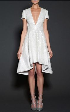I would wear this to a formal summer soirée. Naeem Khan Bridal Spring Summer 2016 Look 4 on Moda Operandi