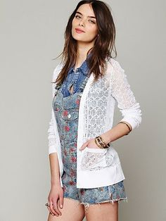 Free People Open Stitch Cardi