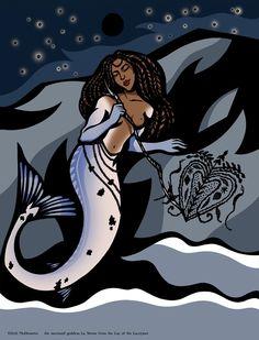 MATURE La Sirene, a Vodou mermaid goddess