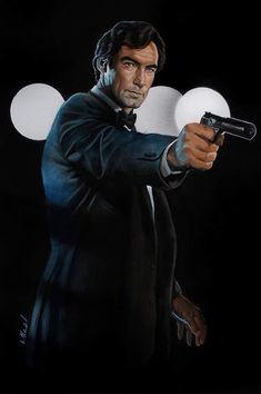 Timothy Dalton as Bond. Dalton James, Timothy Dalton, James Bond Party, James Bond Theme, James Bond Movie Posters, James Bond Movies, Aston Martin, Estilo James Bond, League Of Heroes