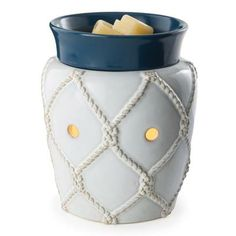 Sail away this summer with our new Nautical Illumination Fragrance Warmer. Purchase at http://www.candlewarmers.com/ProductDetail.aspx?prod=742