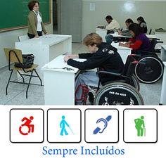 acessibilidade nas salas de aula - Pesquisa Google