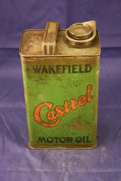 Castrol Wakefield +quotc+quot Winter Motor Oil Half Gallon Tin