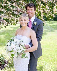 Summer love | Photography: IRIS Photography - photoiris.com Read More: http://www.stylemepretty.com/2015/04/22/preppy-backyard-wedding/
