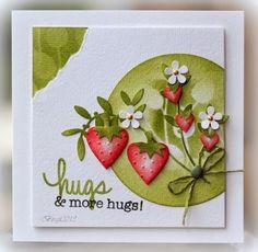 Rapport från ett skrivbord: Heart Strawberries