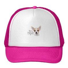 #Chihuahua Trucker Hat - #chihuahua #puppy #dog #dogs #pet #pets #cute
