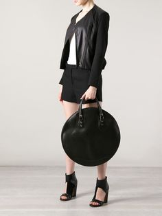 comme des garcons circle bag - Google Search