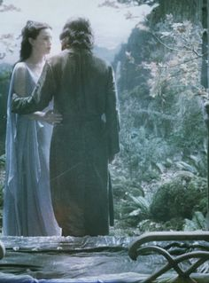 Arwen Undómiel with Aragorn ~ the Lord of the Rings Trilogy Aragorn And Arwen, Legolas, Fellowship Of The Ring, Lord Of The Rings, Lotr, Arwen Undomiel, Into The West, The Two Towers, Jrr Tolkien