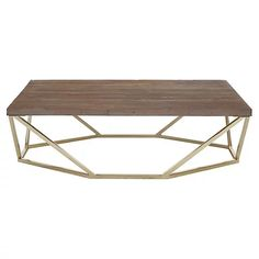 Arbor Coffee Table, Natural