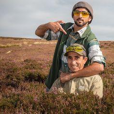 Hamdan MRM y su tío Saeed MJM, Yorkshire, 08/09/2014. Vía: uncle_saeed