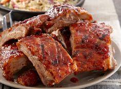 Costela de Porco Americana - Veja mais em: http://www.cybercook.com.br/receita-de-costela-de-porco-americana.html?codigo=36607