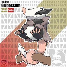 introducing the evolved form of Ropossum, Gripossum! The Guardian PkMN! | | Will Gripossum be a part of your team? | Gripossum evolves…