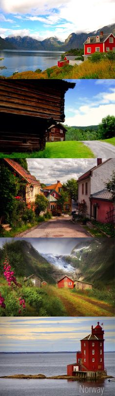Norway collage of beauty