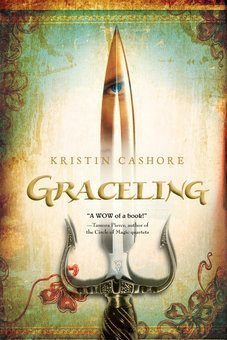 GRACELING Realm by Kristin Cashore is a great YA series for more mature readers.  The series gets more series as it goes along --sex/violence/sadism.  made the NY Times best series lists for 2012. (see list for exact reading/quiz numbers)