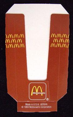 Vintage McDonald/'s Corp Ronald McDonald Adjustable Gold Enamel Ring Free Ship