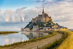 Morning+View+At+The+Mont+Saint-michel