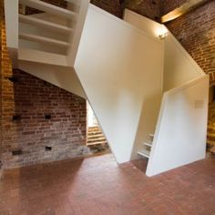 Toren+van+Uitwierde+staircase++by+Onix. Geometric staircase. Visual interest with clean lines