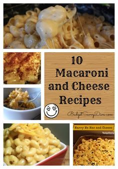 If you are a fan of Macaroni and cheese there are 10 not to miss macaroni and cheese recipes