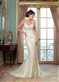 Cheap wedding gowns, Buy Quality china brides directly from China lace mermaid wedding Suppliers: Elegant China Bride Bridal Sexy Backless Lace Mermaid Wedding Dresses Tulle vestido de noiva robe de mariage Wedding Gowns 2015 Wedding Dresses, Wedding Dresses Plus Size, Wedding Dress Styles, Designer Wedding Dresses, Bridal Dresses, Wedding Gowns, Bridesmaid Dresses, Wedding Designers, Couture Mode