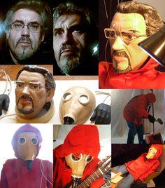 String Puppet. Short photo story: Metamorphosis. Marionette custom order. Marioneta de hilo. Breve foto historia: Metamorfosis. Marionetas encargada para proyecto musical bandas en una persona real.