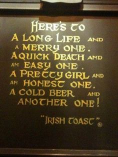 Ideas Wedding Quotes And Sayings Toast Irish Proverbs Irish Toasts, Me Quotes, Funny Quotes, Quotes Images, Girl Quotes, Funny Humor, Irish Proverbs, Irish Eyes Are Smiling, Biker Quotes