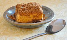 Pumpkin-Pie-Dessert in the slow cooker Crockpot Dessert Recipes, Crock Pot Desserts, Slow Cooker Desserts, Fall Dessert Recipes, Fall Desserts, Sweet Desserts, Baking Recipes, Cooker Recipes, Crockpot Meals