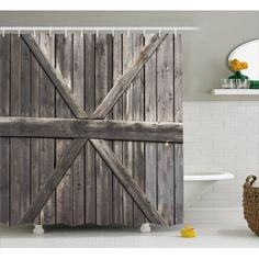 Ideas Old Wooden Door Bathroom For 2019 Rustic Fall Decor, Country Decor, Country Life, Black Entry Doors, Rustic Shower Curtains, Best Front Door Colors, Dorm Room Doors, Old Door Knobs, Old Wooden Doors