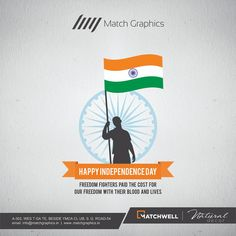 Freedom fighters paid the cost for our freedom with their blood and lives Happy Independence Day. Independence Day Poster, Independence Day India, House Tiles, Wall Tiles, Ads Creative, Creative Design, Live Happy, Happy Day, National Days