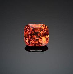 Very Fine Mandarin Garnet, Mogok, Burma Garnet Jewelry, Garnet Gemstone, Gemstone Jewelry, Minerals And Gemstones, Rocks And Minerals, Loose Gemstones, Mogok, Raw Stone Jewelry, Beautiful Rocks