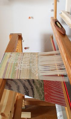 One day I will be able to do this/ have a full sized loom.