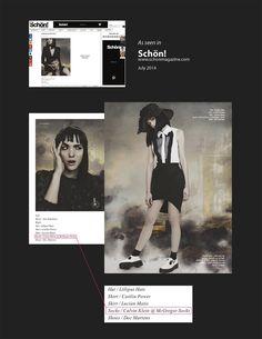Schön! Magazine #Fashion #Style