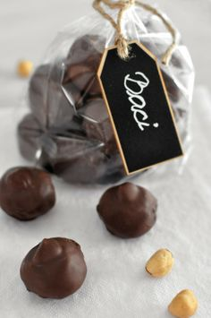 Homemade Baci Chocolates (chocolate And nutella) : Mogwai Soup