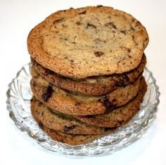 Chocolate chip cookies... looking really good and the recipe seems just right.