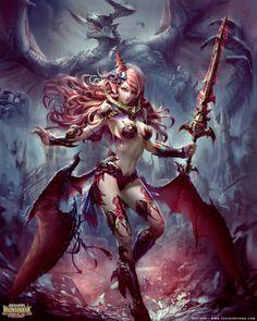 creaturesfromdreams:Ars Magna by yuchenghong  —-x—- More: |Demons|Random|