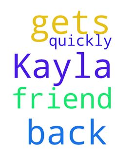 Please pray my friend Kayla gets back to me quickly - Please pray my friend Kayla gets back to me quickly Posted at: https://prayerrequest.com/t/Kay #pray #prayer #request #prayerrequest