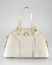 Yves Saint Laurent Muse Dome Tote... Please?