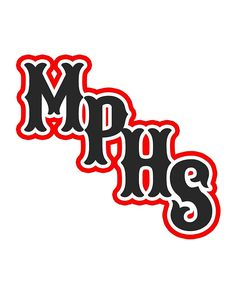 b4bfda10c Buy 'MPHS (red outline)' by MemfoBrand as a T-Shirt,