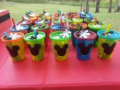 Mickey Mouse Birthday Party Ideas | Photo 3 of 21 | Catch My Party