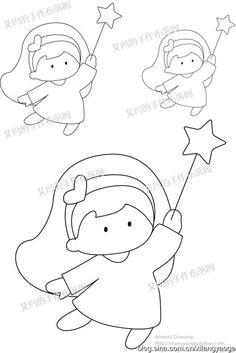 [转载]【艾玛手绘】魔幻小天使图纸