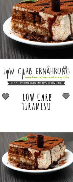 Low Carb Rezept für leckeres Tiramisu ohne Zucker und mit wenig Kohlenhydraten. Low Carb, zuckerfrei und einfach und schnell zum Nachmachen. Perfekt zum Abnehmen.