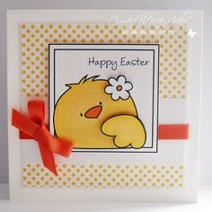 Katina's Cards and Chat: Easter Cutie!
