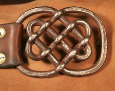 Custom Made Celtic Knot Belt Buckle