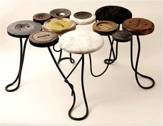 button table by Lila Jang