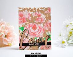 Stamp a gorgeous peony print with our Peony Crush Cling Background stamp. 6x6 inches 1 Cling Mounted Red Rubber Background Stamp Made of high quality red rub