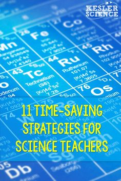 Ideas on how to become more efficient as a science teacher! Maximize routines and transition time in your classroom so your students can enjoy learning through more fun activities! teacher 11 Time-Saving Strategies for Science Teachers Middle School Science, Elementary Science, Science Classroom, Science Education, Physical Science, Waldorf Education, Physical Education, Elementary Schools, Education Galaxy