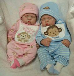 Bébés rose & bleu