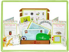 Radish Kids Monthly Subscription-  Gets kids excited about healthy foods and helping out in the kitchen