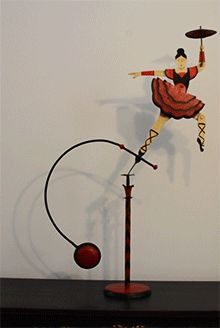rope walker balance toy